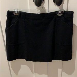 J.Crew  wool mini skirt